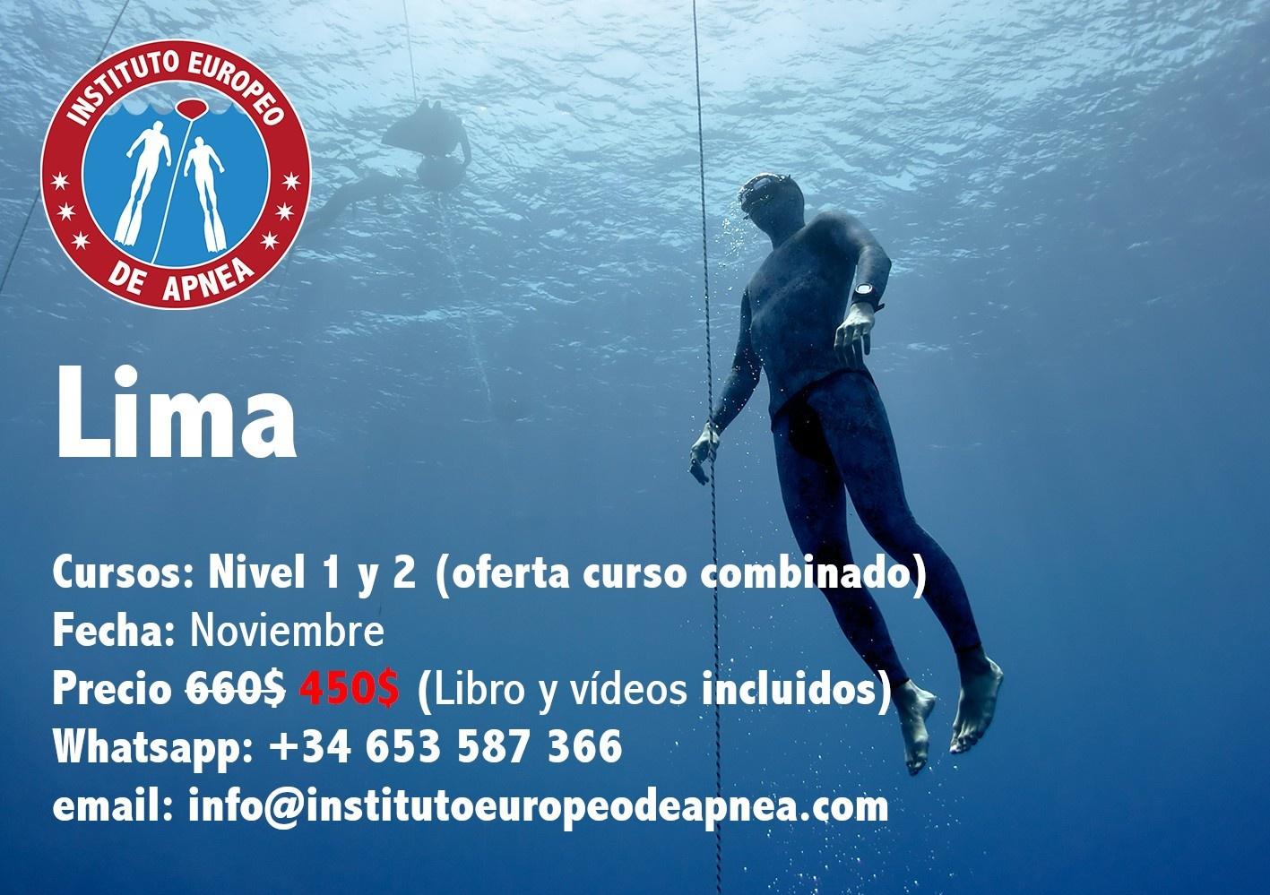 Curso de apnea en Lima - Perú