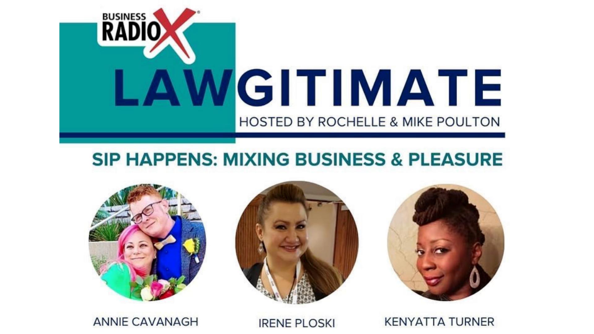lawgitimate podcast radio show business radio x