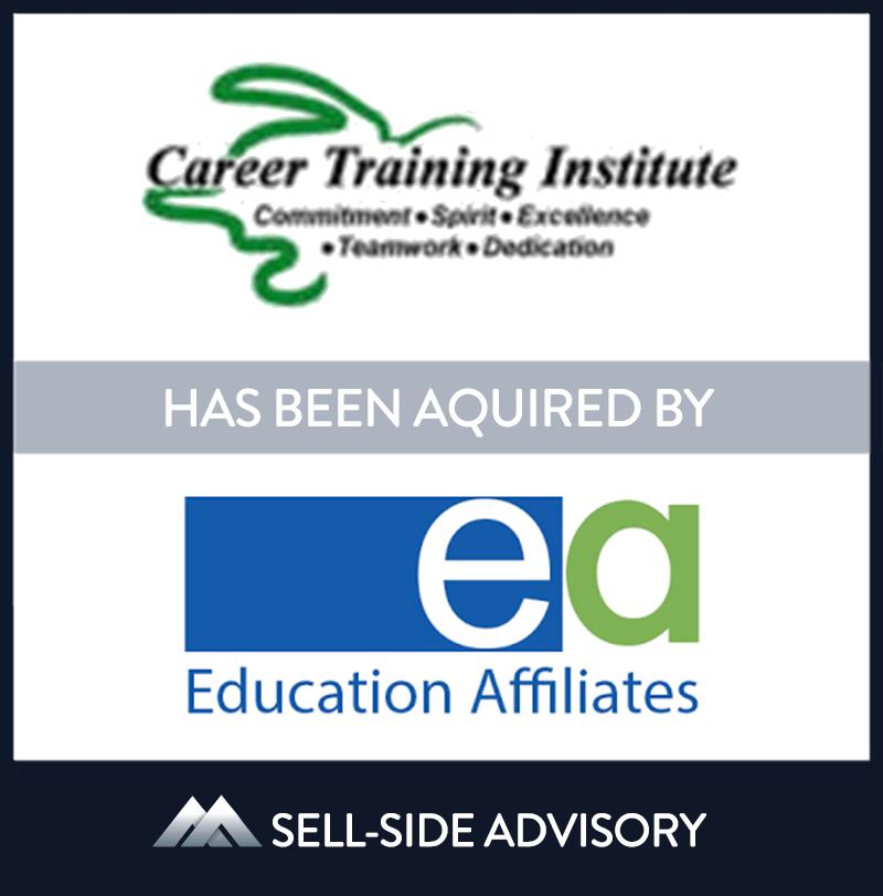   Career Training Institute, Education Affiliates, 1 Dec 2007, Florida, Education