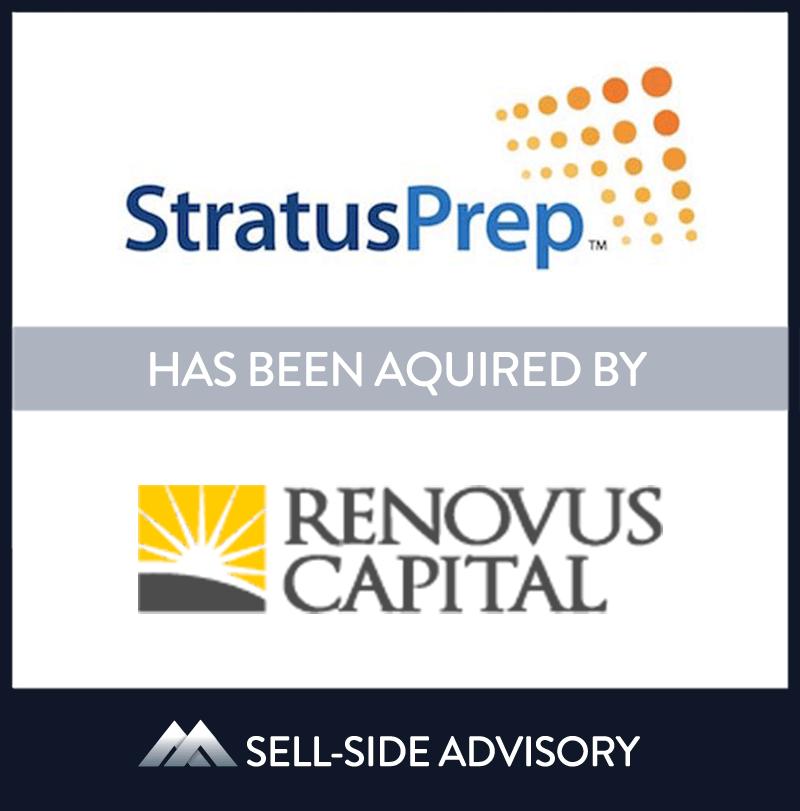   Stratus Test Prep, Renovus Capital Partners, 01 July 2014, New York, Education