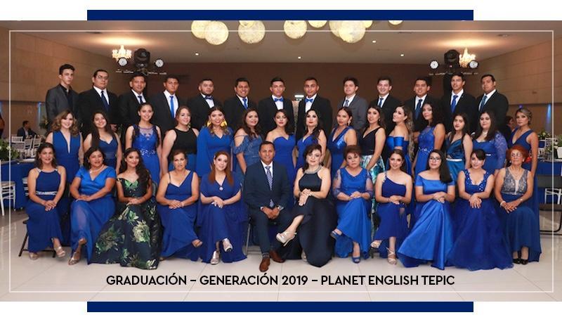 Graduación Planet English Tepic 2019