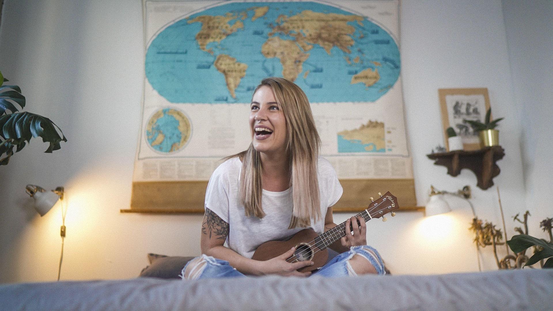 Heidi Priebe World Map ENFP Happy
