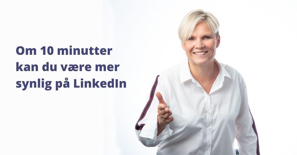 gratis, LinkedIn, visittkort, Potensialbygger, Cathrine Lie Strand