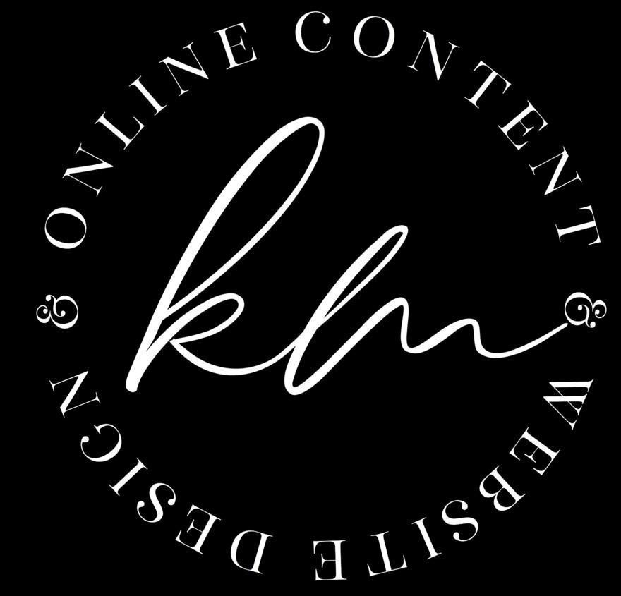 Kylie Malcolm Website Design