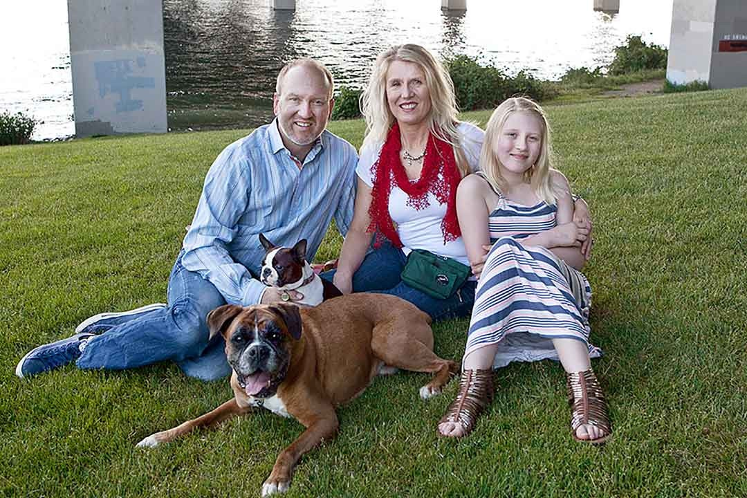 Animal Hospice Group - Michelle and Family