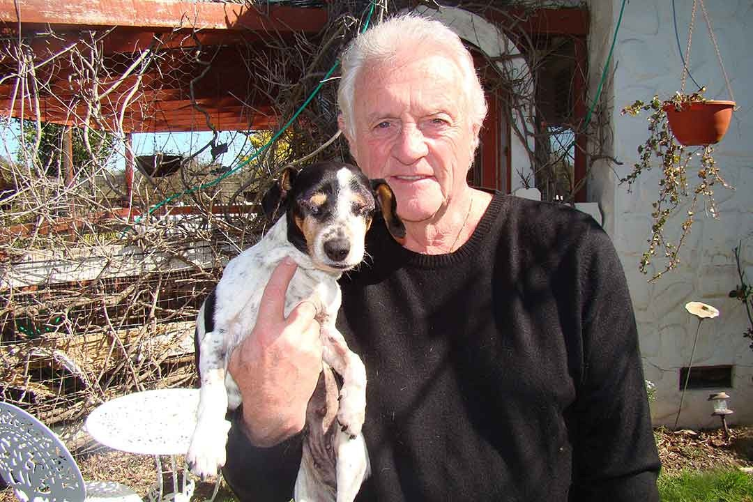 Animal Hospice Group - Richard with Lily