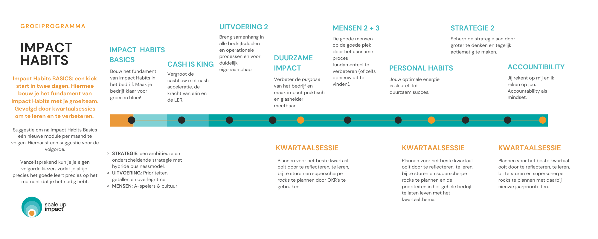 Impact Habits Groeiprogramma   Scale up business coach