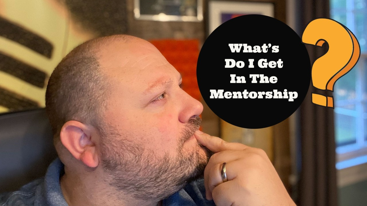 What's in the voice over mentorship program