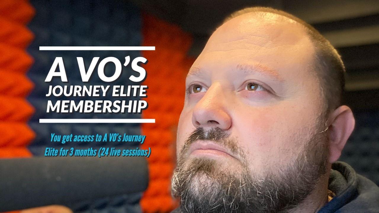 A VO's Journey Elite Voice Over Membership