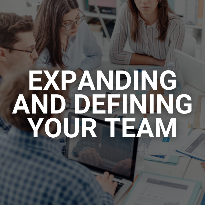 Defining Your Team