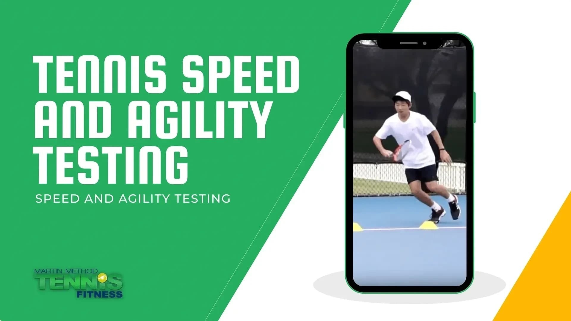 TENNIS SPEED AND AGILITY TESTING
