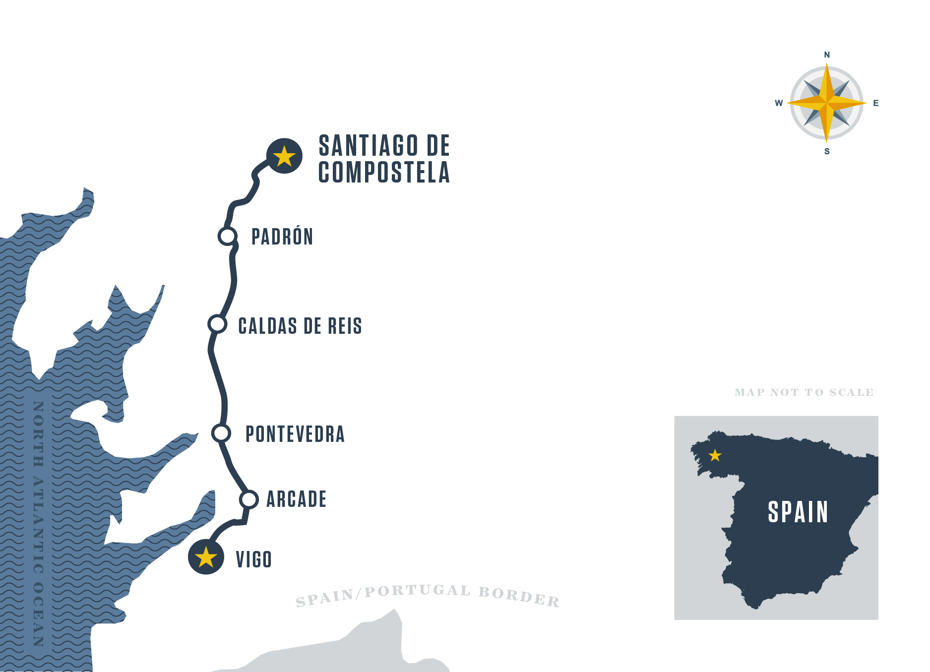 The Portugal Coastal Way Map