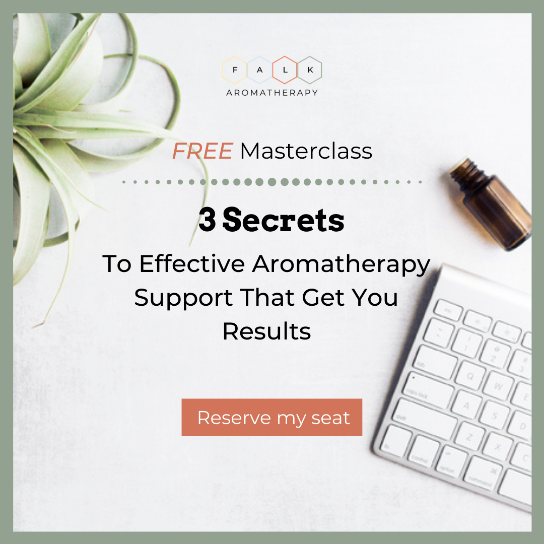 Free Masterclass: 3 Secrets to Effective Aromatherapy Support That Get You Results