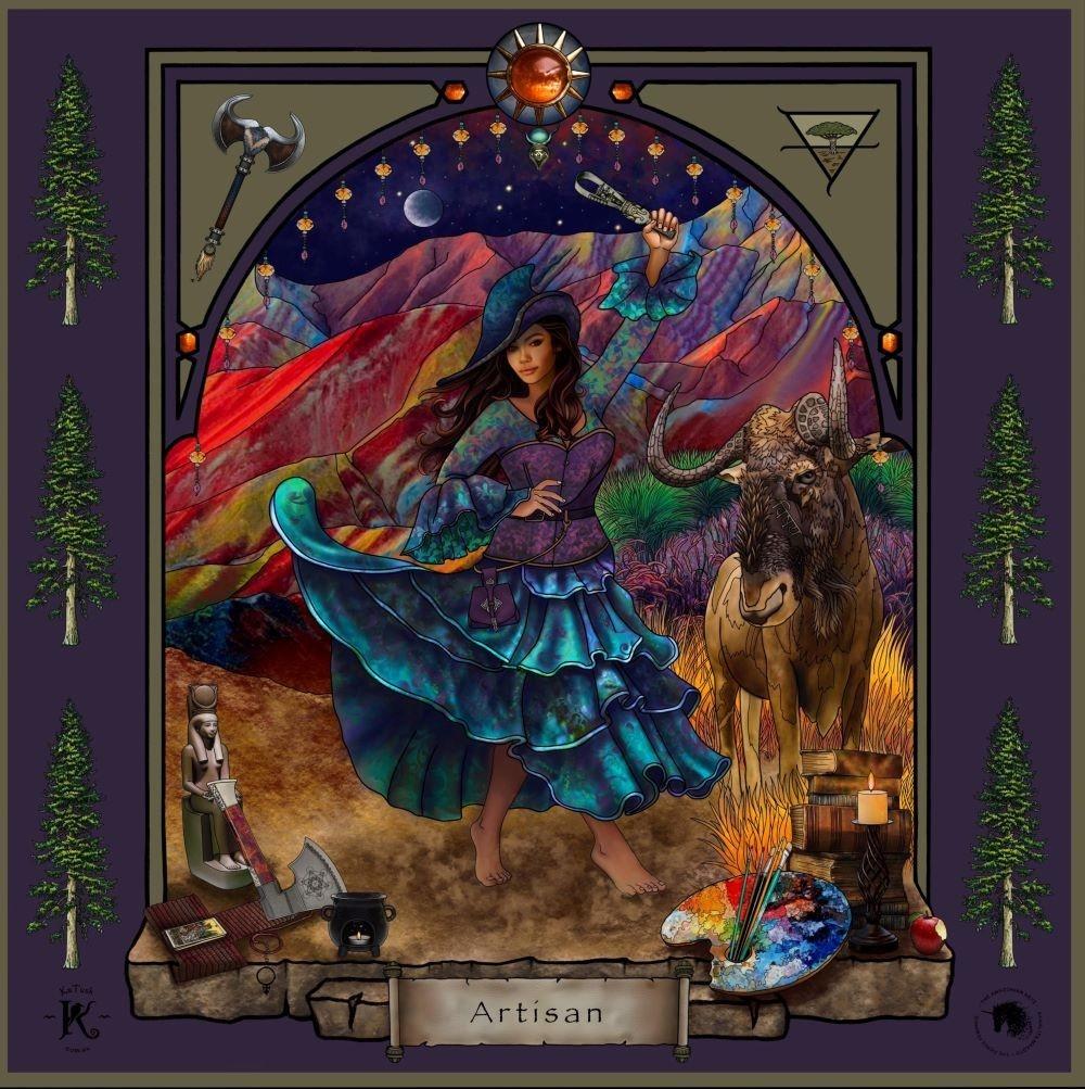 The Artisan Warrioress Artwork