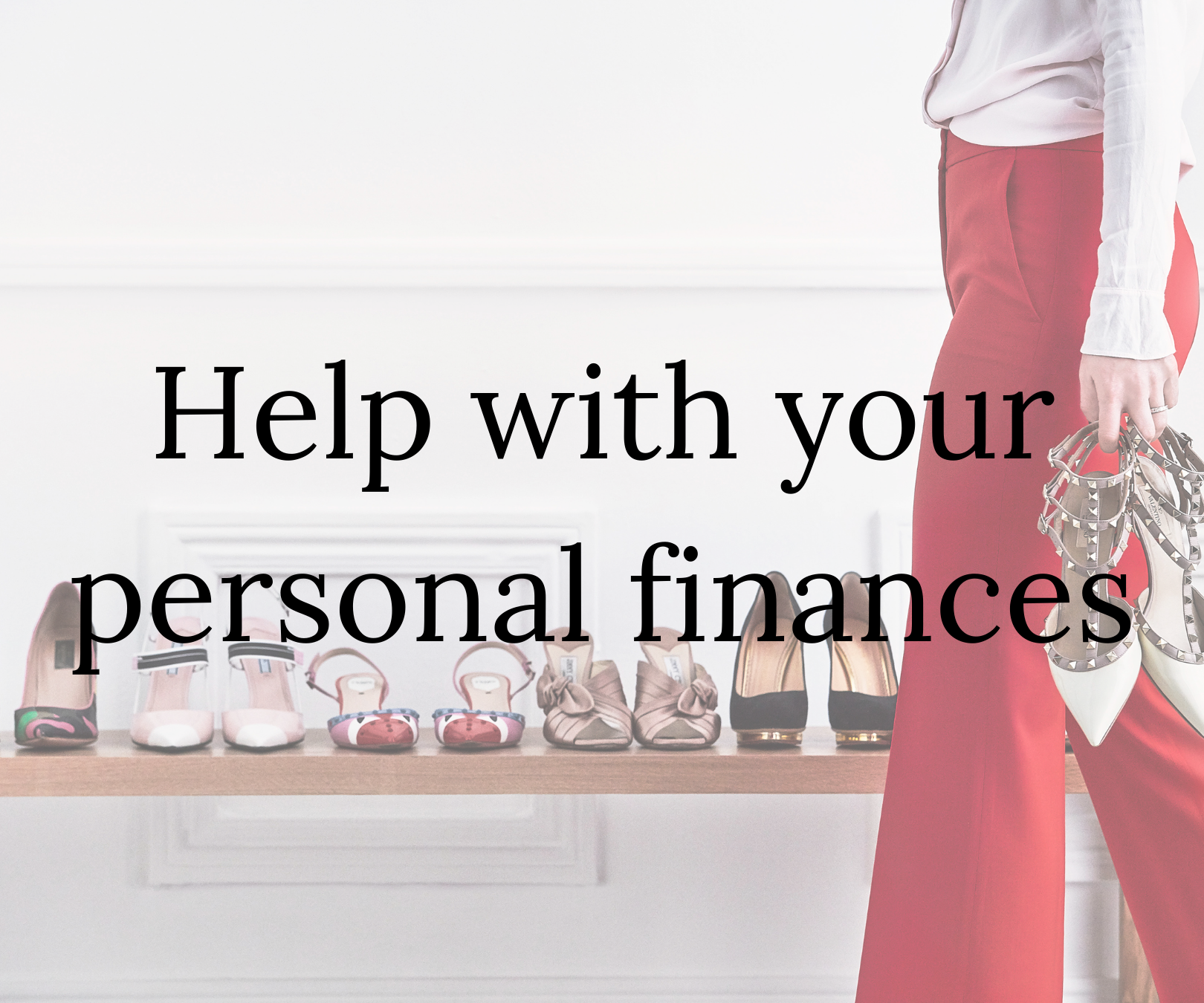 Help with your personal finances