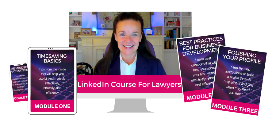 Introducing LinkedIn Course For Lawyers with Nancy Myrland