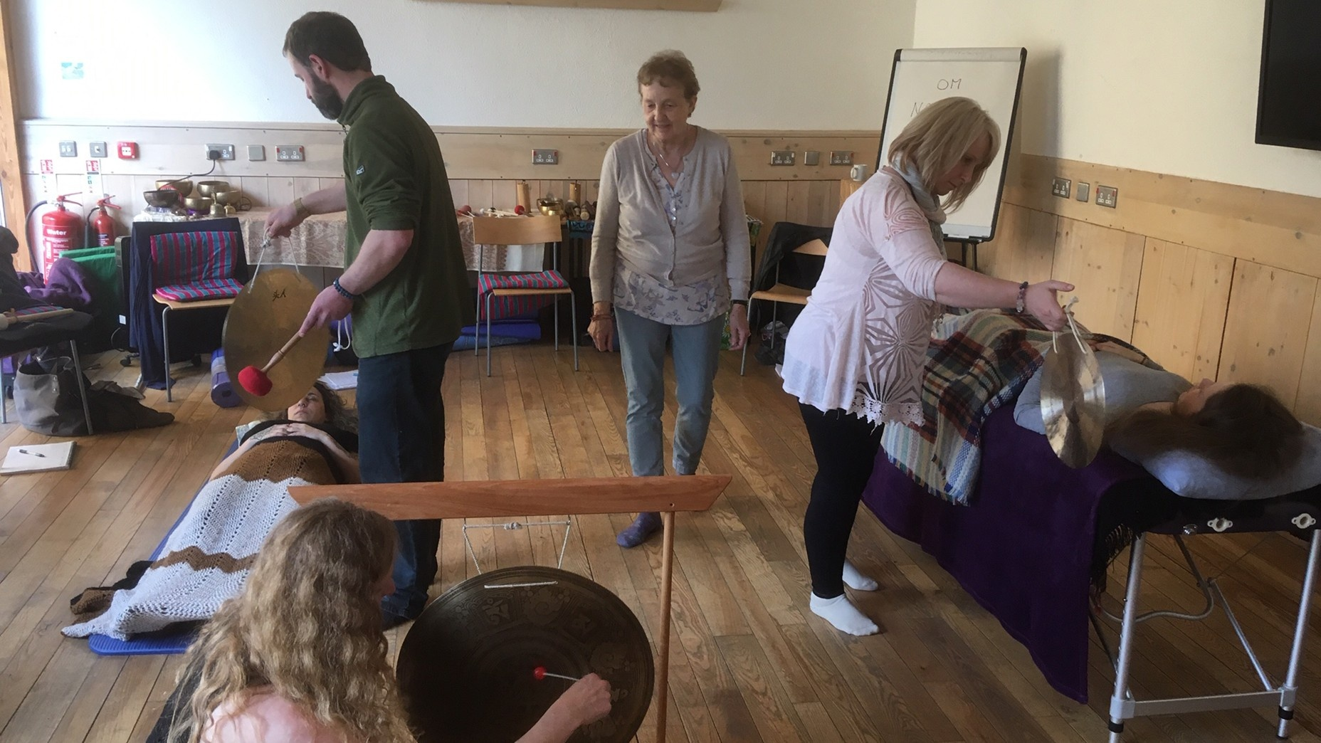 sound therapy courses Wales
