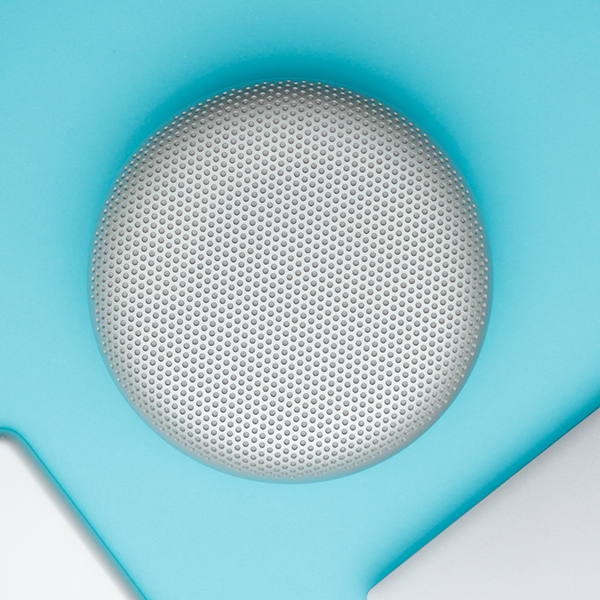 Image of a smart home speaker unit on a table