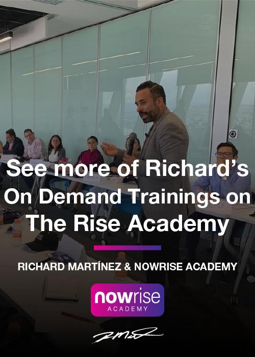Richard Martinez Business Courses - https://theriseacademy.com/