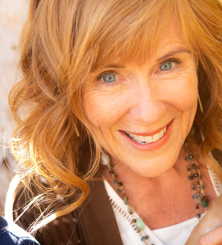 Close-up of Sally Bartlett