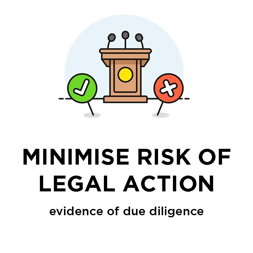 ISO Online Training - Minimise Risk of Legal Action