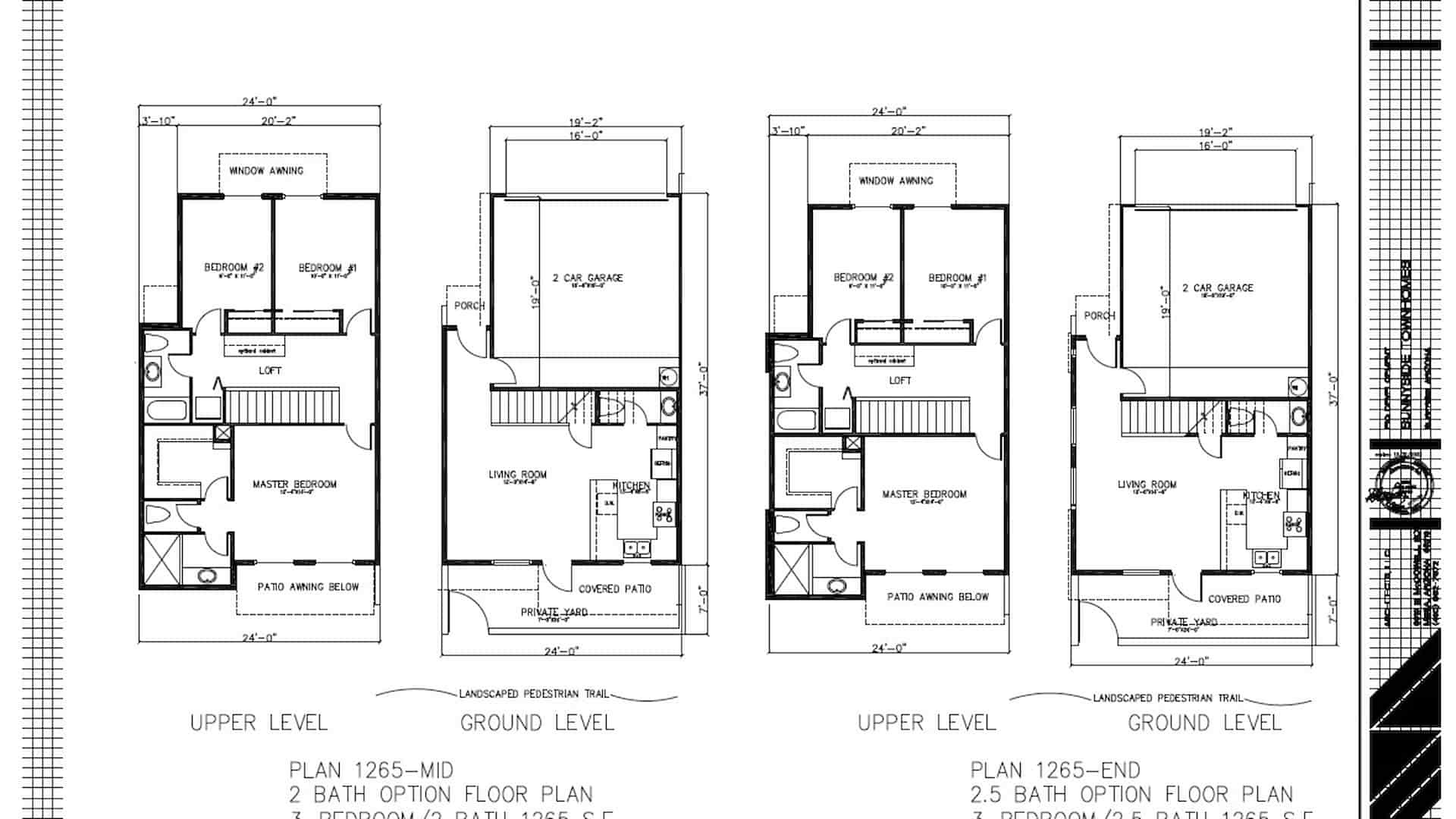 83rd & Thomas Floor Plan
