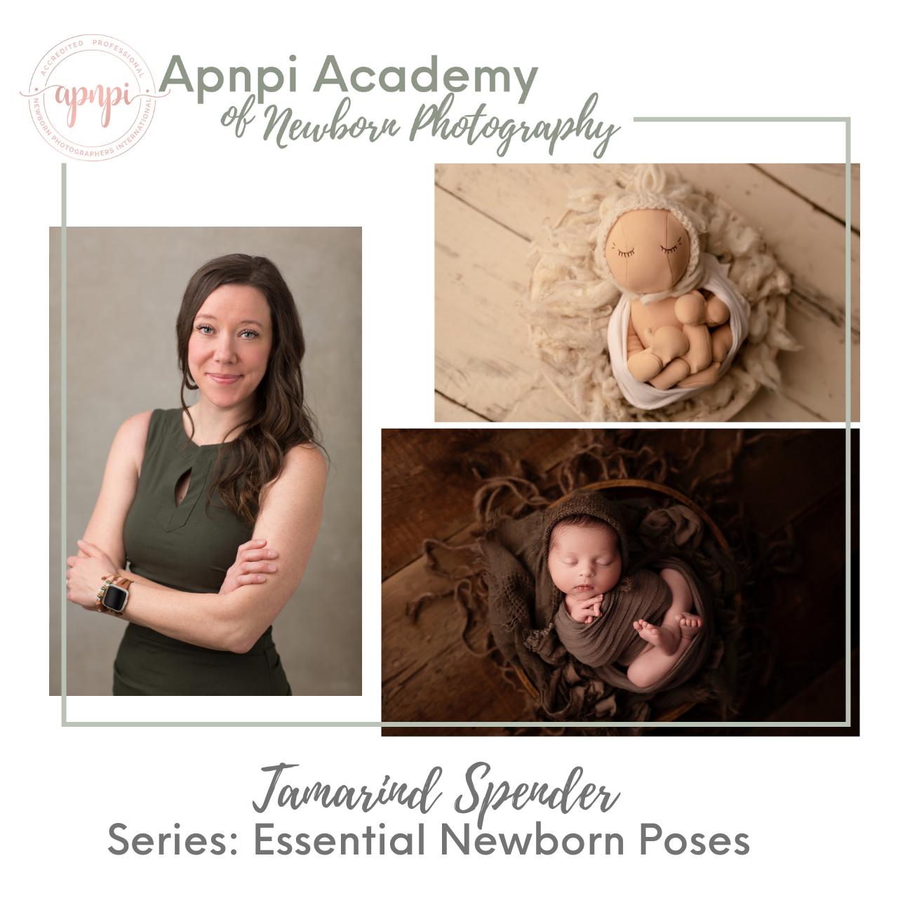 Tamarind Spender Azure Newborn Photography Posing APNPI Academy Course