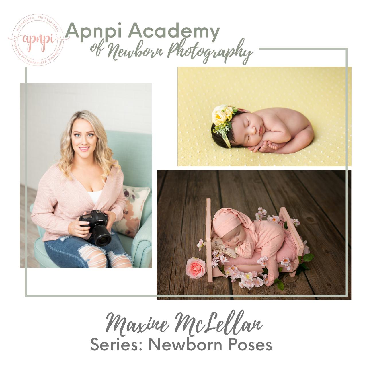 Maxine McLellan Oh So Savvy Newborn Posing APNPI Academy Course
