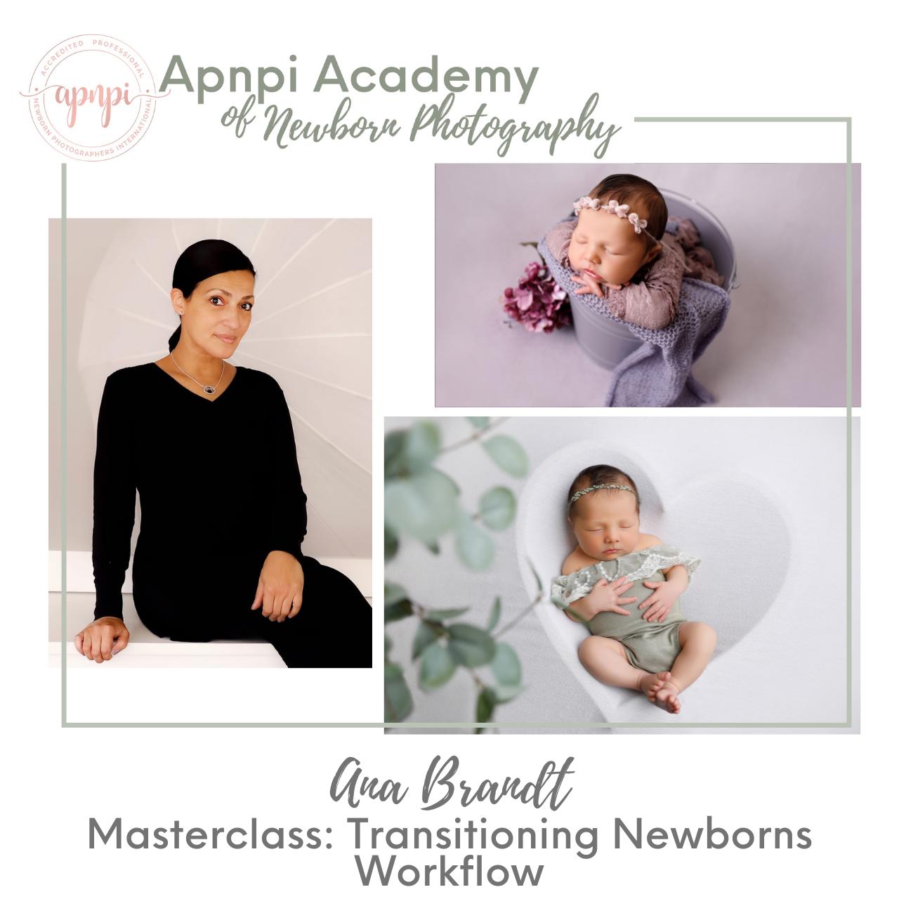 Ana Brandt Newborn Transitions Workflow APNPI Academy Course