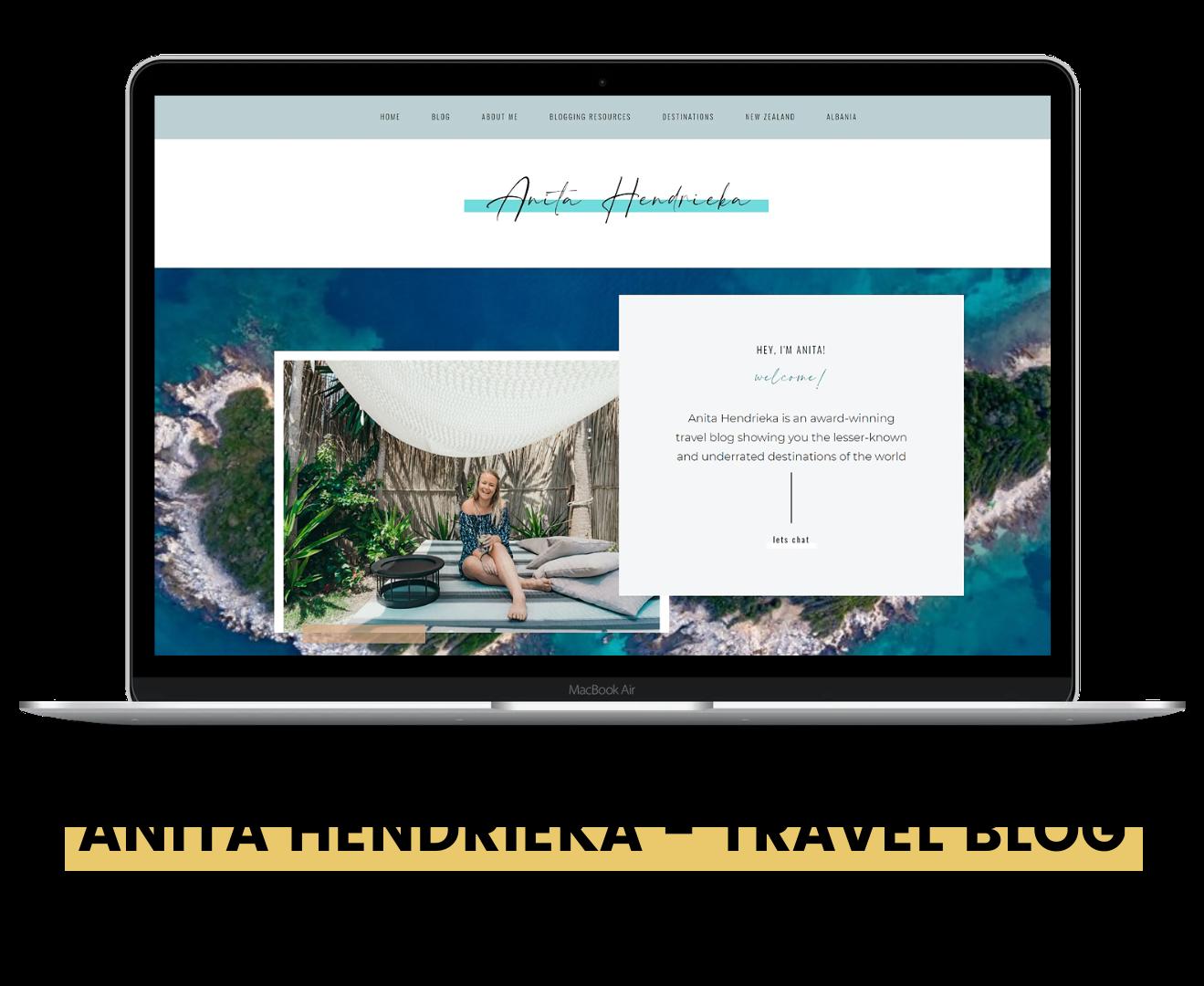 Anita Hendrieka travel blogger