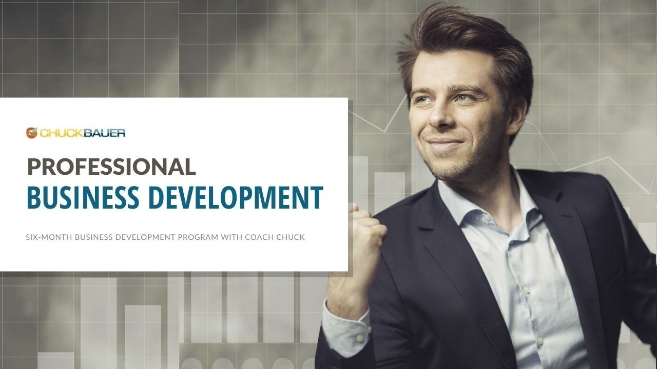 Professional One-On-One Business Development Training