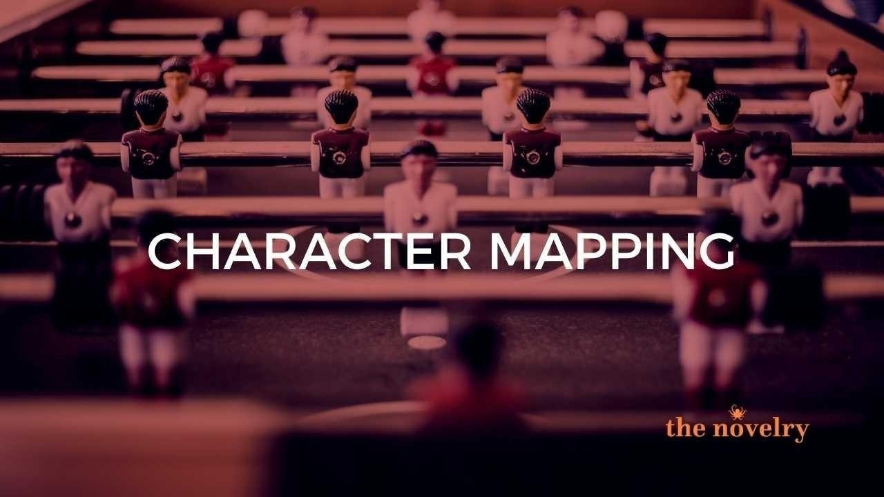 character mapping for novels