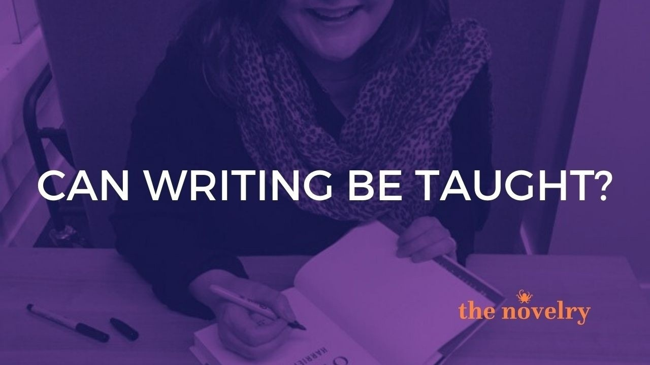Can writing be taught?
