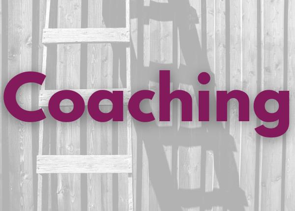 Coaching image of ladder