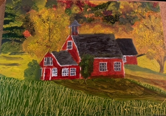 Featured Artist Kimberly Evans little red school house