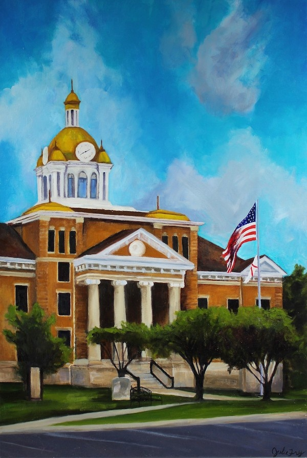 Feature Artist Julie Fry Oil Painting Commission