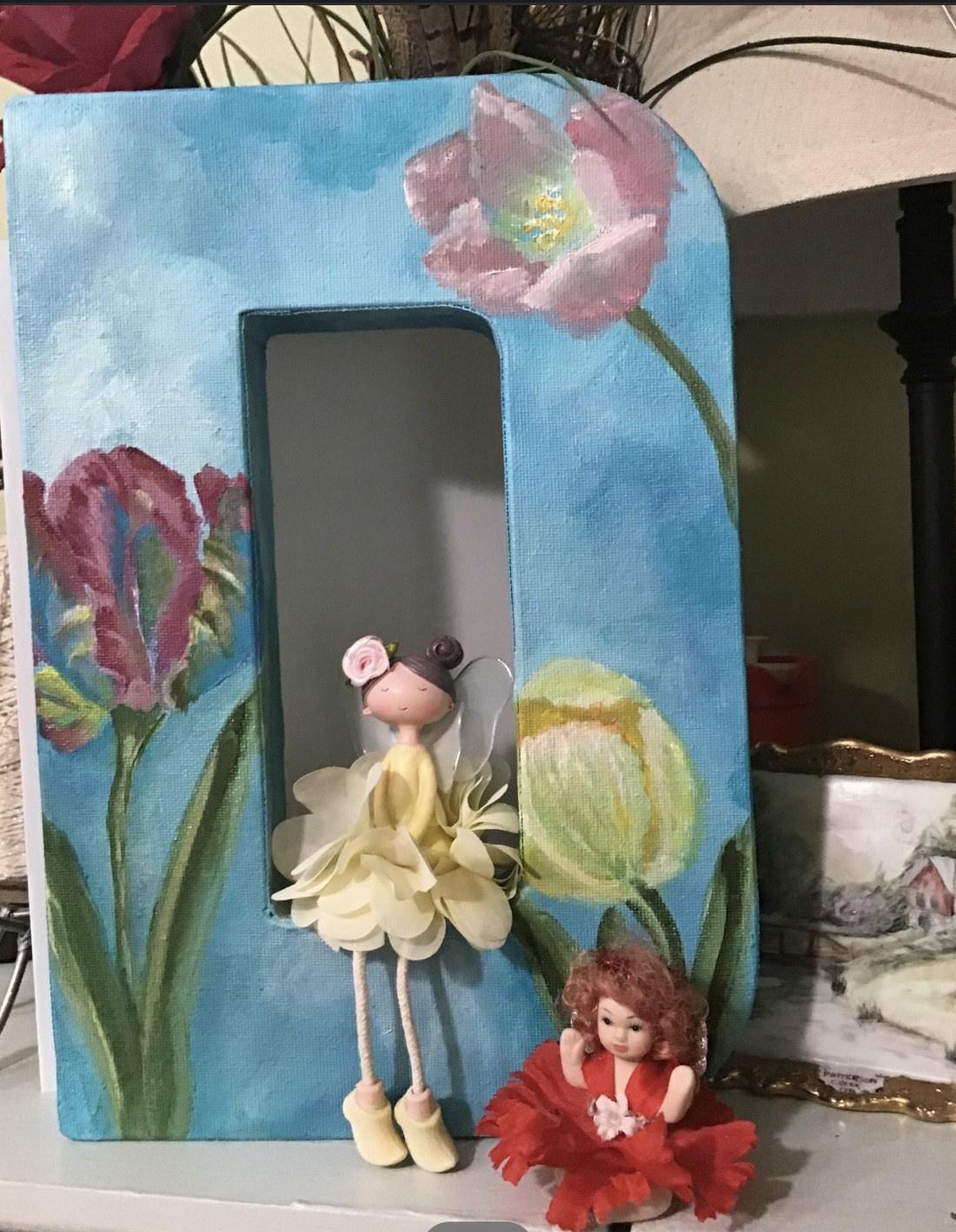 Dolly Tabb Feature Artist Created a Cheezy Cherub Art Motivation Challenge