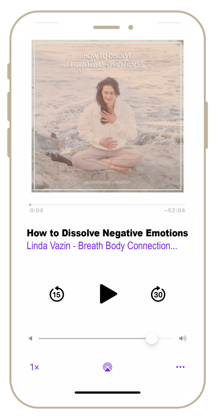 Linda Vazin, A Free Audio Guide, How to Dissolve Negative Emotions