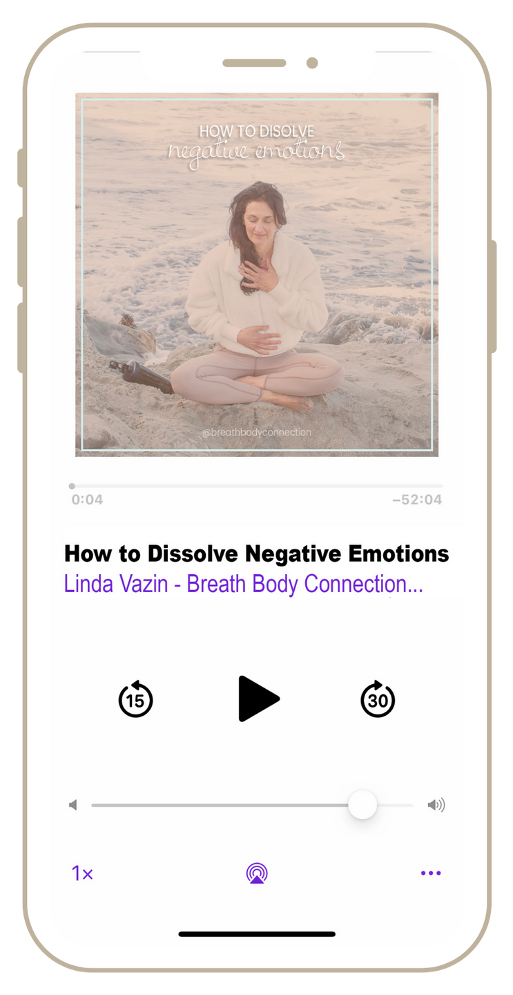 How to Dissolve Negative Emotions Voice Guided Meditation