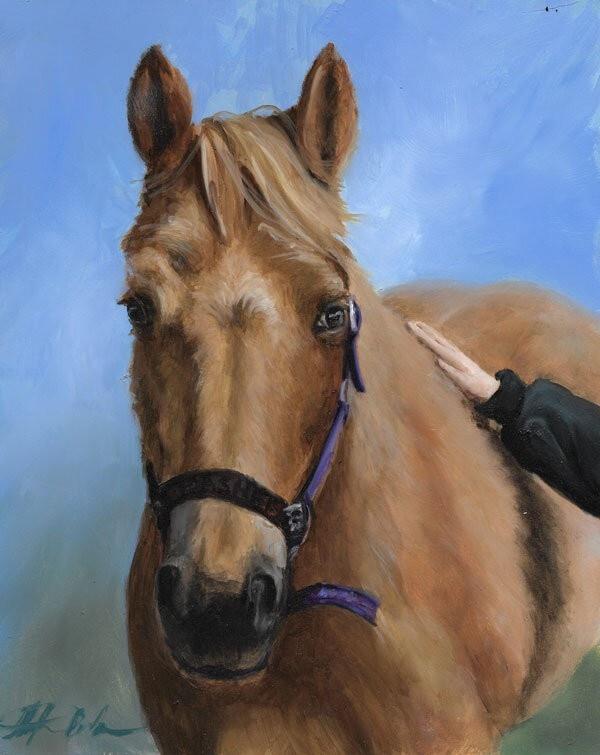 Custom oil Portrait