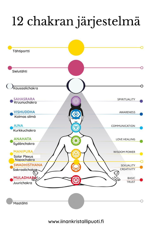 12 chakran järjestelmä