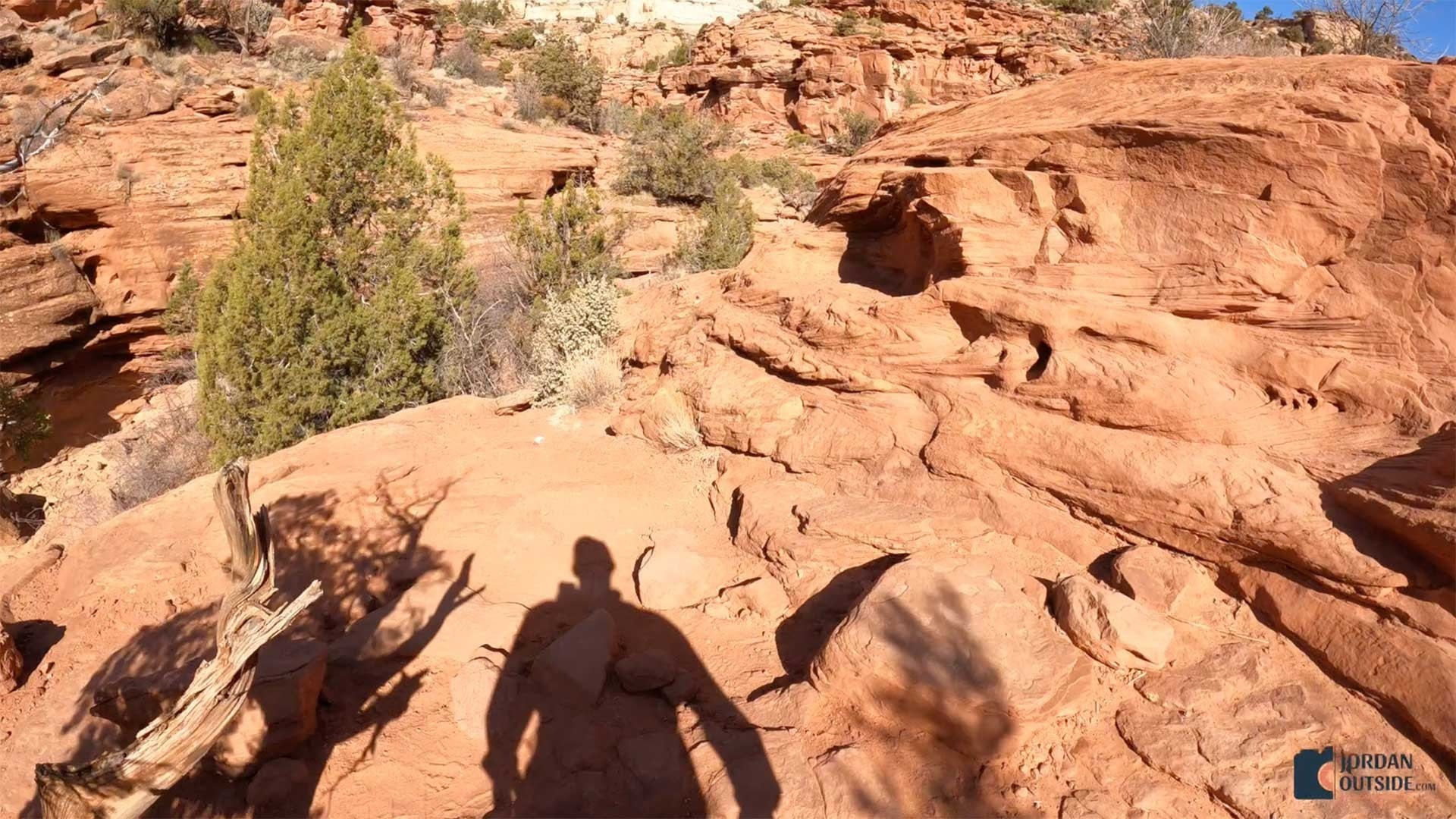 Hiking the Red Rocks on the Lower Calf Creek Falls Trail