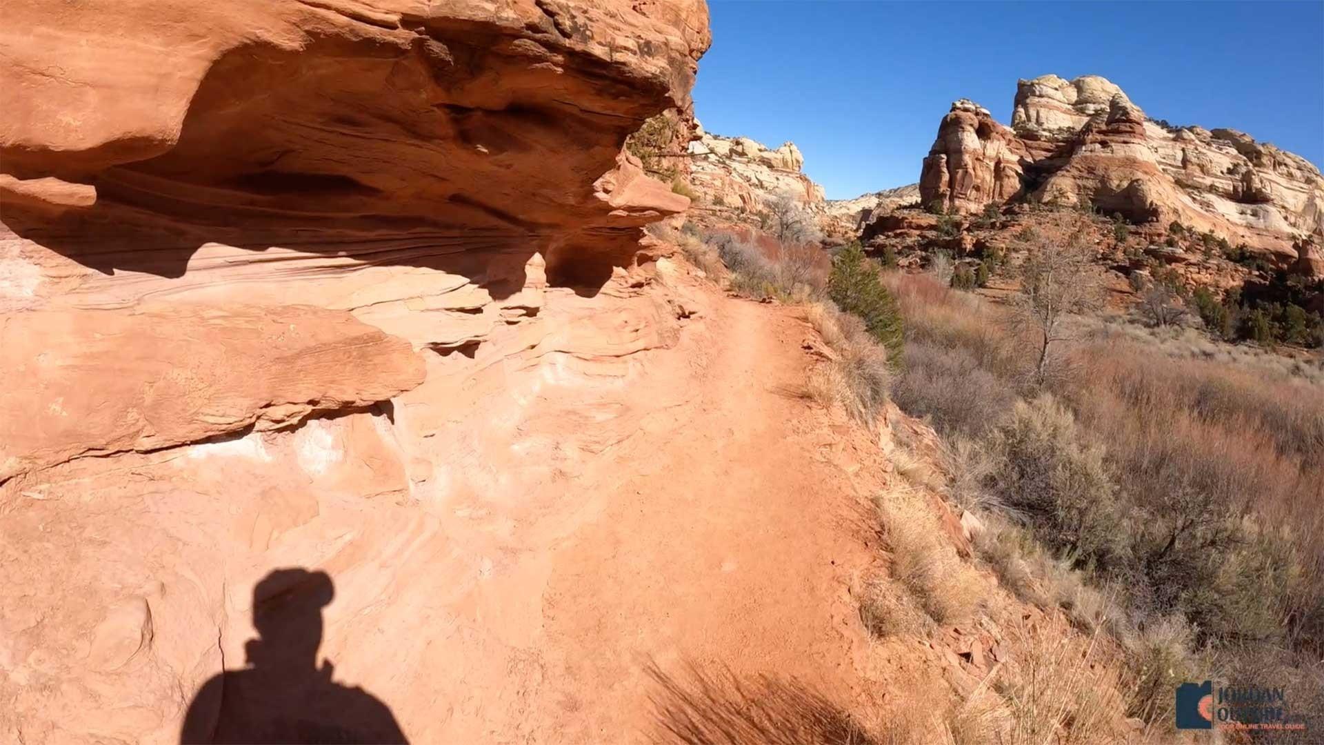Hiking the Lower Calf Creek Trail Red Rock