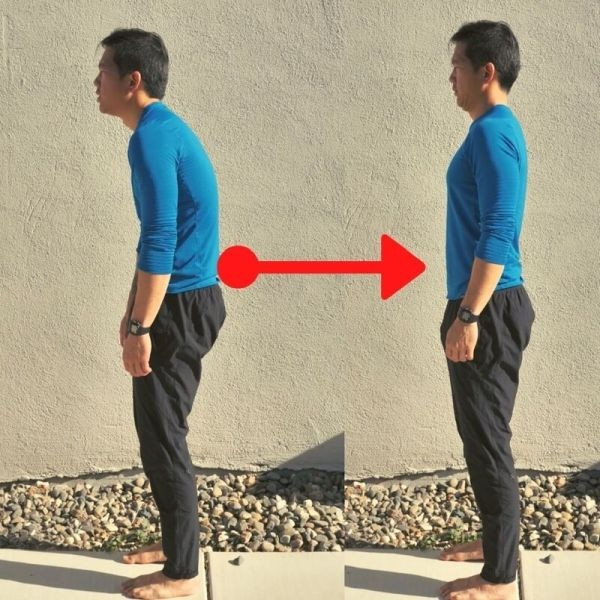 Hunchback Posture Before and After