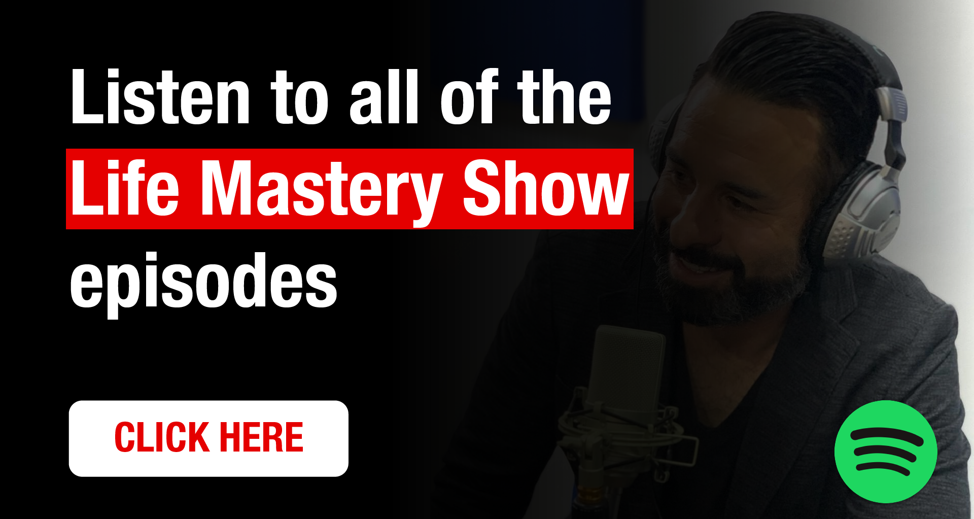 Life Mastery Show on Spotify by Richard Martinez,  project life mastery, project life mastery review, life mastery course, project life mastery net worth