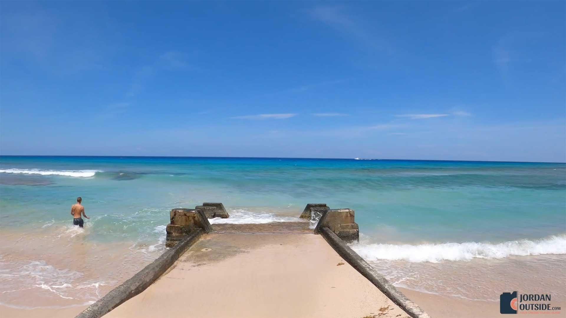 Pier View at Cane Bay Beach, St. Croix