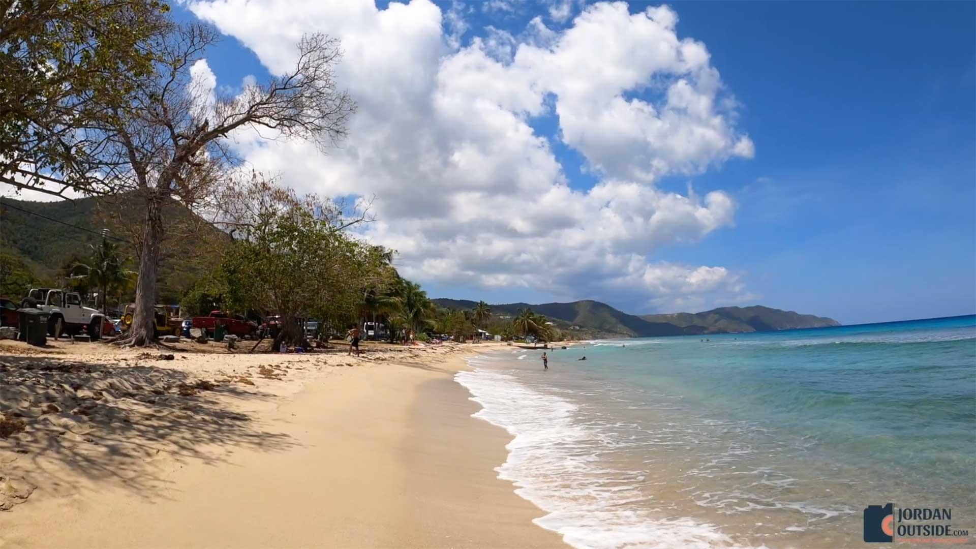 Beach View at Cane Bay Beach, St. Croix