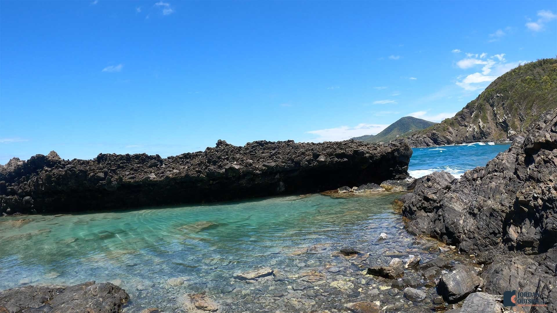 The big tide pool at Annaly Bay in St. Croix