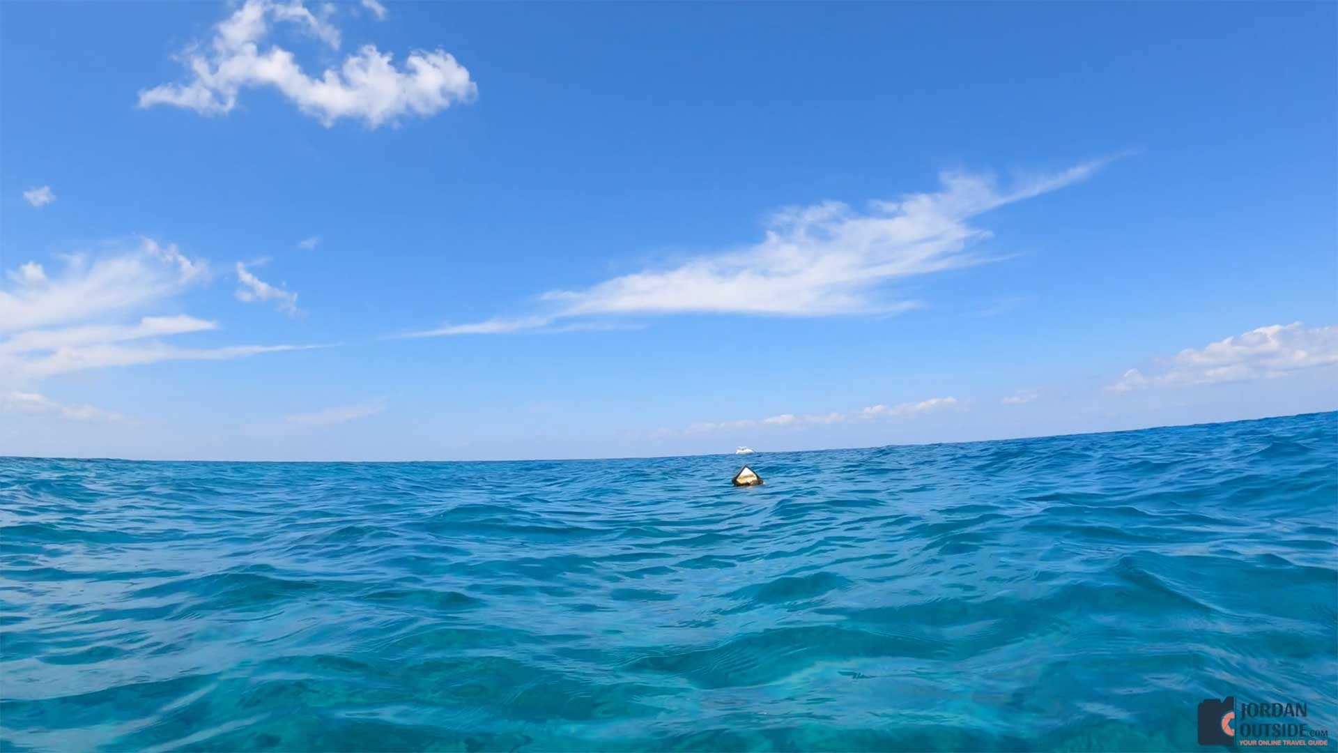 First Buoy to Dive Site at Butler Bay Beach, St. Croix