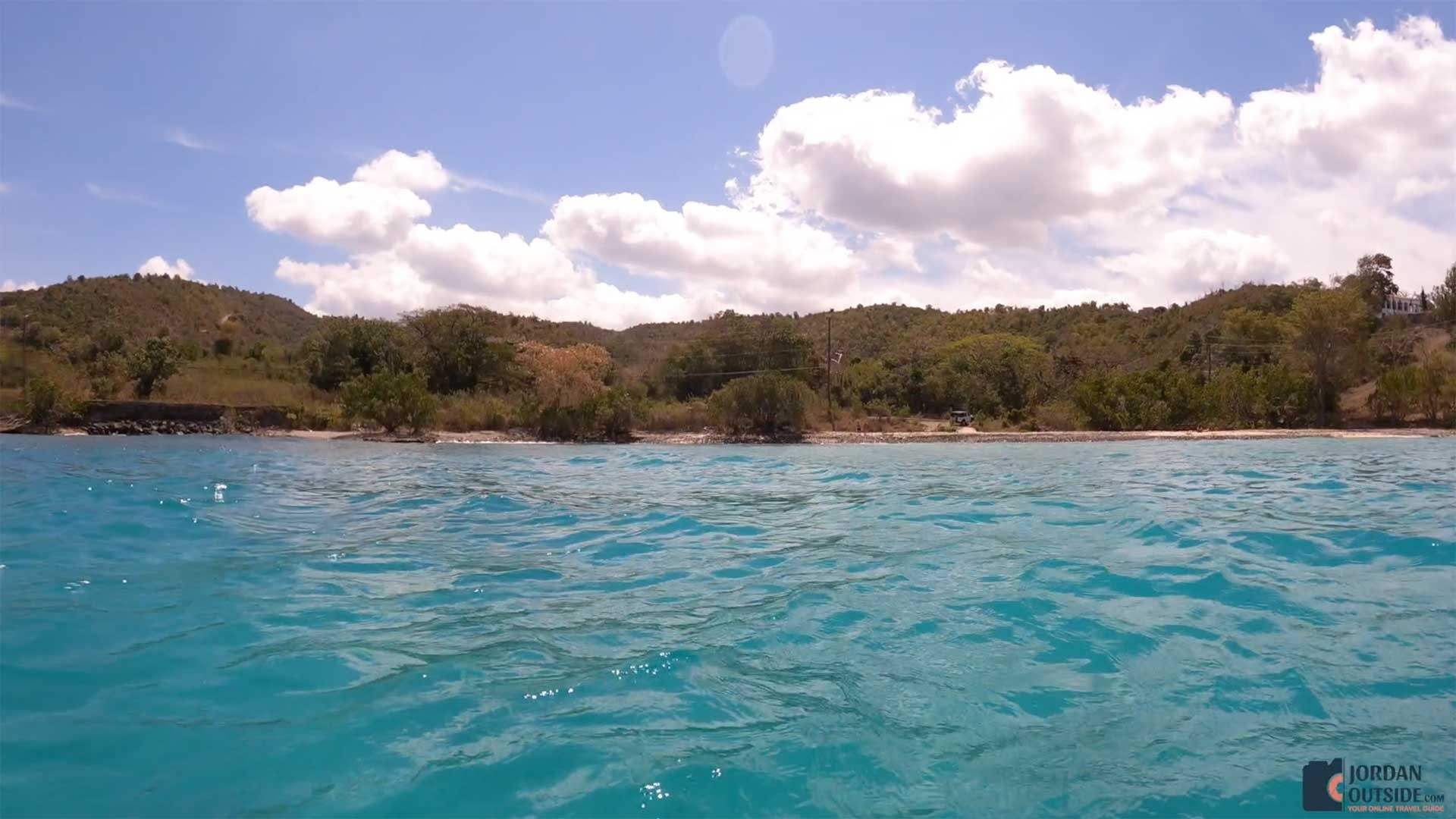 View of Butler Bay Beach from the water
